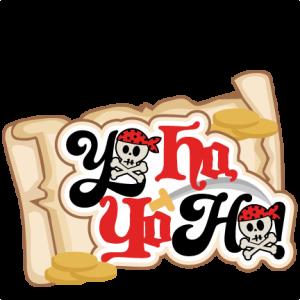 Yo Ho Yo Ho Title SVG scrapbook cut file cute clipart clip art files for silhouette cricut pazzles free svgs free svg cuts cute cut files