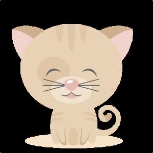 Sitting Kitty SVG scrapbook cut file cute clipart files for silhouette cricut pazzles free svgs free svg cuts cute cut files