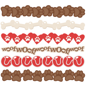 Dog Borders SVG scrapbook cut file cute clipart files for silhouette cricut pazzles free svgs free svg cuts cute cut files