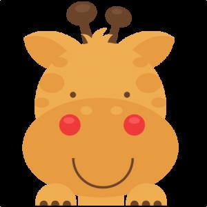 Peeking Giraffe SVG scrapbook cut file cute clipart files for silhouette cricut pazzles free svgs free svg cuts cute cut files