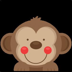 Peeking  Monkey SVG scrapbook cut file cute clipart files for silhouette cricut pazzles free svgs free svg cuts cute cut files