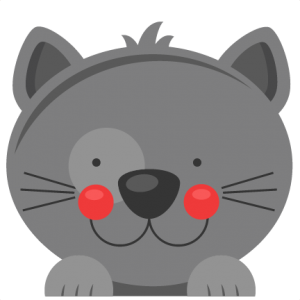 Peeking  Cat SVG scrapbook cut file cute clipart files for silhouette cricut pazzles free svgs free svg cuts cute cut files