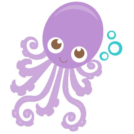 Octopus Svg Scrapbook Cut File Cute Clipart Files For