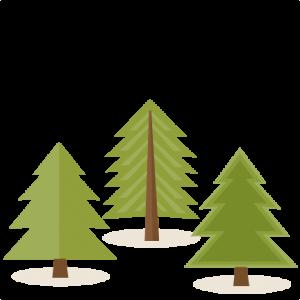 Pine Tree Set SVG scrapbook cut file cute clipart files for silhouette cricut pazzles free svgs free svg cuts cute cut files