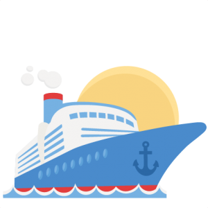 Cruise Ship SVG scrapbook cut file cute clipart files for silhouette cricut pazzles free svgs free svg cuts cute cut files