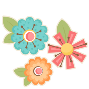 Flower Set SVG scrapbook cut file cute clipart files for silhouette cricut pazzles free svgs free svg cuts cute cut files