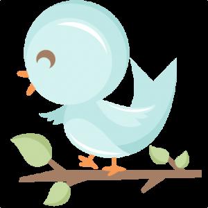 Cute Bird in Tree SVG scrapbook cut file cute clipart files for silhouette cricut pazzles free svgs free svg cuts cute cut files