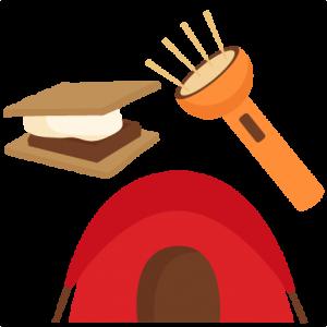 Camping Set SVG scrapbook cut file cute clipart files for silhouette cricut pazzles free svgs free svg cuts cute cut files