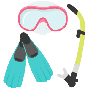 Snorkel Gear Set SVG scrapbook cut file cute clipart files for silhouette cricut pazzles free svgs free svg cuts cute cut files