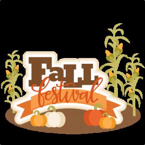 Fall Festival Title SVG scrapbook cut file cute clipart files for silhouette cricut pazzles free svgs free svg cuts cute cut files