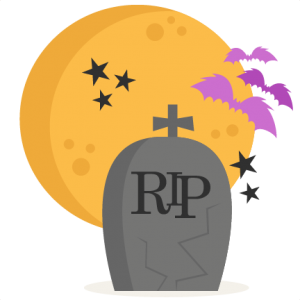 Tombstone With Moon SVG scrapbook cut file cute clipart files for silhouette cricut pazzles free svgs free svg cuts cute cut files