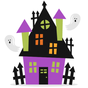 Halloween Haunted House SVG scrapbook cut file cute clipart files for silhouette cricut pazzles free svgs free svg cuts cute cut files