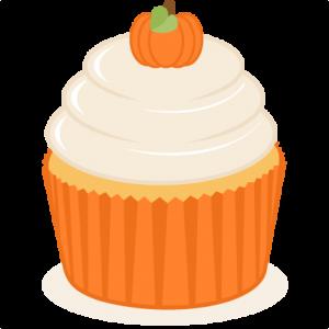 Pumpkin Cupcake SVG scrapbook cut file cute clipart files for silhouette cricut pazzles free svgs free svg cuts cute cut files