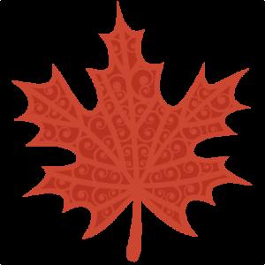 Fall Swirl Leaf SVG scrapbook cut file cute clipart files for silhouette cricut pazzles free svgs free svg cuts cute cut files