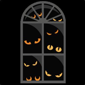 Halloween Window  SVG scrapbook cut file cute clipart files for silhouette cricut pazzles free svgs free svg cuts cute cut files