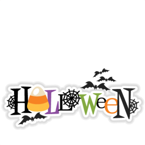 Halloween Title SVG scrapbook cut file cute clipart files for silhouette cricut pazzles free svgs free svg cuts cute cut files
