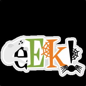 Eek! Title SVG scrapbook cut file cute clipart files for silhouette cricut pazzles free svgs free svg cuts cute cut files