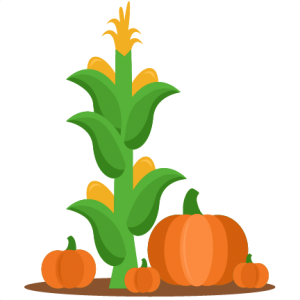 Cornstalk and Pumpkins Fall SVG scrapbook cut file cute clipart files for silhouette cricut pazzles free svgs free svg cuts cute cut files