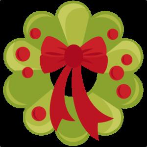 Christmas Wreath SVG scrapbook cut file cute clipart files for silhouette cricut pazzles free svgs free svg cuts cute cut files