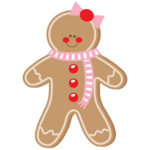 Gingerbread Girl SVG scrapbook cut file cute clipart files for silhouette cricut pazzles free svgs free svg cuts cute cut files