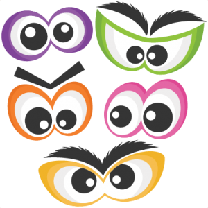 Halloween Spooky Eye Set SVG scrapbook cut file cute clipart files for silhouette cricut pazzles free svgs free svg cuts cute cut files