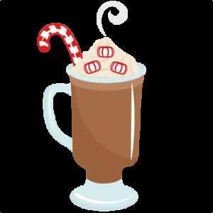 Peppermint Hot Cocoa SVG scrapbook cut file cute clipart files for silhouette cricut pazzles free svgs free svg cuts cute cut files