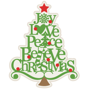 Christmas Tree Words SVG scrapbook cut file cute clipart files for silhouette cricut pazzles free svgs free svg cuts cute cut files