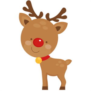 Cute Reindeer  SVG scrapbook cut file cute clipart files for silhouette cricut pazzles free svgs free svg cuts cute cut files