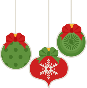 Christmas Ornament Set scrapbook cut file cute clipart files for silhouette cricut pazzles free svgs free svg cuts cute cut files