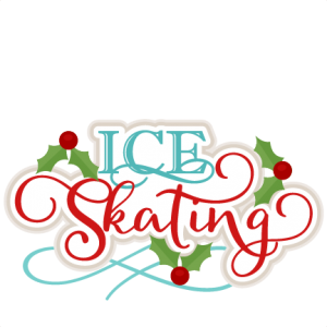 Ice Skating Title scrapbook cut file cute clipart files for silhouette cricut pazzles free svgs free svg cuts cute cut files