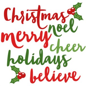 Christmas Words scrapbook cut file cute clipart files for silhouette cricut pazzles free svgs free svg cuts cute cut files
