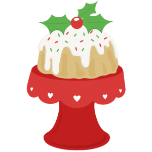 Christmas Cake scrapbook cut file cute clipart files for silhouette cricut pazzles free svgs free svg cuts cute cut files