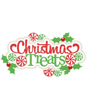 Christmas Treats Title scrapbook cut file cute clipart files for silhouette cricut pazzles free svgs free svg cuts cute cut files