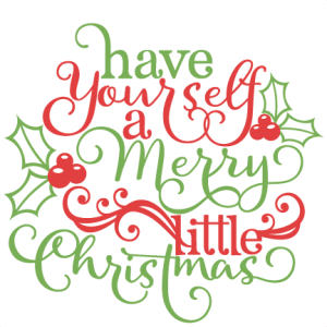 Christmas Phrase scrapbook cut file cute clipart files for silhouette cricut pazzles free svgs free svg cuts cute cut files