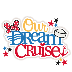 Our Dream Cruise Title  Free SVG files for scrapbooking free svg files for cricut machines free svg files