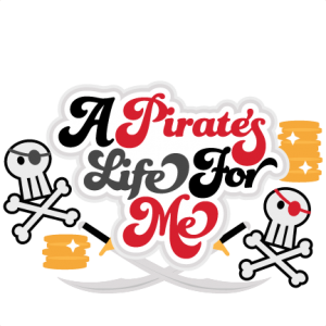 A Pirate's Life For Me Title SVG files for scrapbooking free svg files for cricut machines free svg files