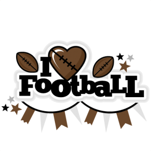 I Heart Football Title scrapbook cut file cute clipart files for silhouette cricut pazzles free svgs free svg cuts cute cut files