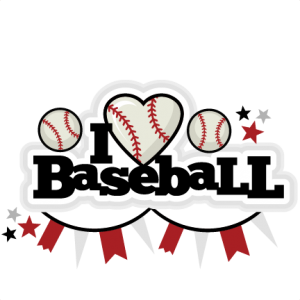 I Heart Baseball Title scrapbook cut file cute clipart files for silhouette cricut pazzles free svgs free svg cuts cute cut files