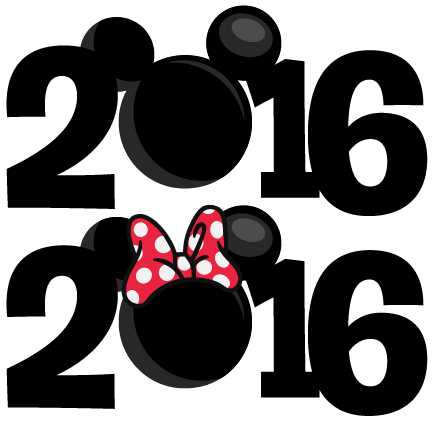 2016 Mouse Titles scrapbook cut file cute clipart files for ...