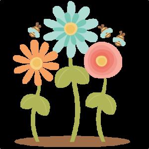 Flowers SVG scrapbook cut file cute clipart files for silhouette cricut pazzles free svgs free svg cuts cute cut files