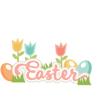 Easter Title SVG scrapbook cut file cute clipart files for silhouette cricut pazzles free svgs free svg cuts cute cut files