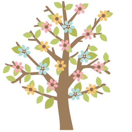 Freebie Of The Day Spring Tree