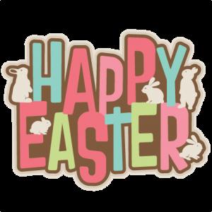 Happy Easter Title SVG scrapbook cut file cute clipart files for silhouette cricut pazzles free svgs free svg cuts cute cut files