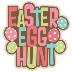 Easter Egg Hunt Title SVG scrapbook cut file cute clipart files for silhouette cricut pazzles free svgs free svg cuts cute cut files