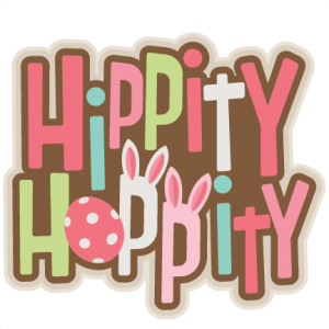 Hippity Hoppity Title SVG scrapbook cut file cute clipart files for silhouette cricut pazzles free svgs free svg cuts cute cut files