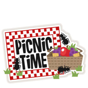Picnic Time Title SVG scrapbook cut file cute clipart files for silhouette cricut pazzles free svgs free svg cuts cute cut files