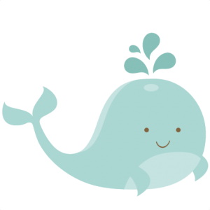 Miss Kate Cuttables Whale SVG Cut File