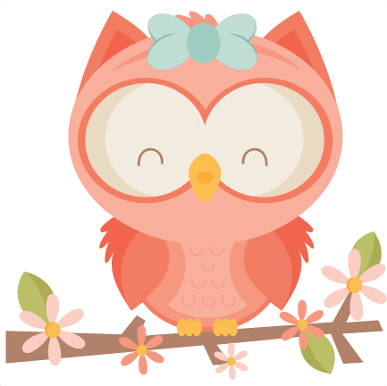Girl Owl Svg Scrapbook Cut File Cute Clipart Files For