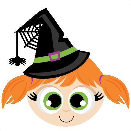 Witch Head SVG scrapbook cut file cute clipart files for ...