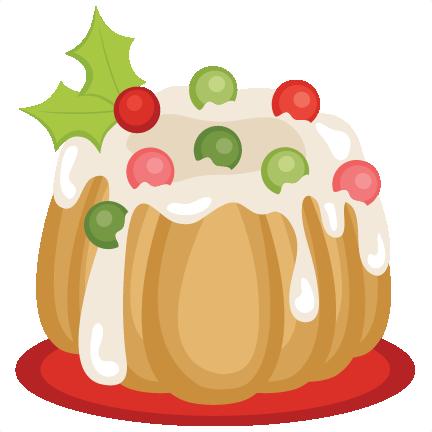Fruit Cake SVG Scrapbook Cut File Cute Clipart Files For